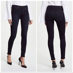 PAIGE   Hoxton Ultra Skinny Jeans in Mona
